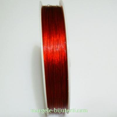 Sarma siliconata rosie, 0.38mm 5 m