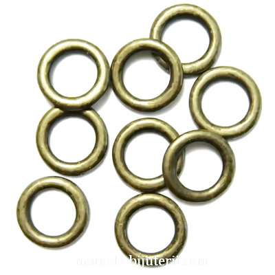 Zale plate, bronz, 14x2mm 1 buc