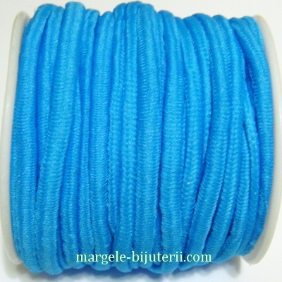 Ata elastica albastra, 4mm, rola 8.5 metri 1 buc