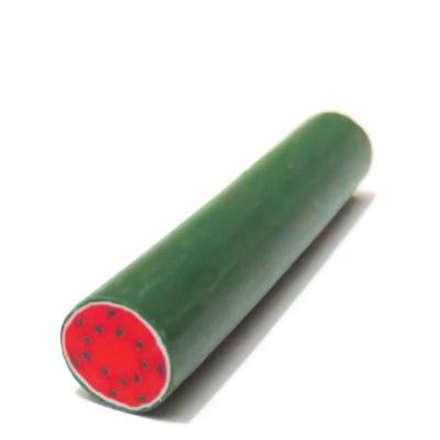 Bete fimo, pepene verde, 9mm, lungime 5cm 1 buc