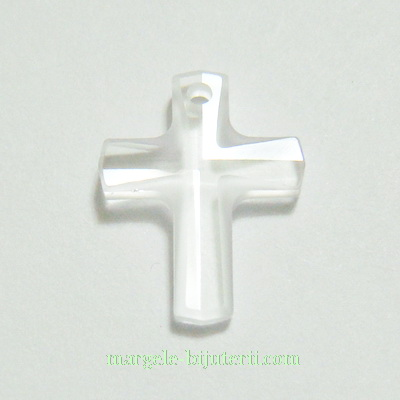 Swarovski Elements, Cross 6860-Crystal, 20x16mm 1 buc