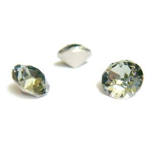Swarovski Elements, Xirius Chaton 1088-Black Diamond SS29, 6mm 1 buc