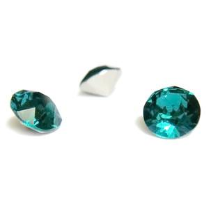 Swarovski Elements, Xirius Chaton 1088-Emerald SS29, 6mm 1 buc