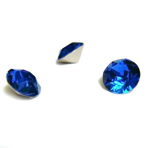 Swarovski Elements, Xirius Chaton 1088-Capri Blue SS29, 6mm 1 buc