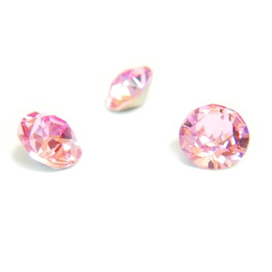 Swarovski Elements, Xirius Chaton 1088-Light Rose SS29, 6mm 1 buc