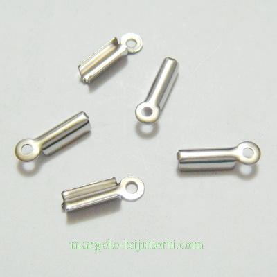 Capat prindere snur, otel inoxidabil 304, 11x3x2.5mm 1 buc