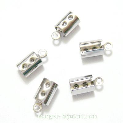 Capat prindere snur, otel inoxidabil 304, 10.5x5x5mm, interior 4mm 1 buc