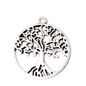 Pandantiv arginiu antichizat ,,copacul vietii