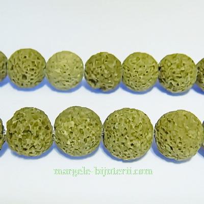 Lava kaky, sfere 10.5mm 1 buc