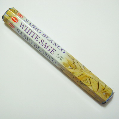 Betisoare parfumate HEM - aroma WHITE SAGE 1 buc