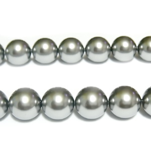 Swarovski Elements, Pearl 5810 Crystal Grey 10mm 1 buc
