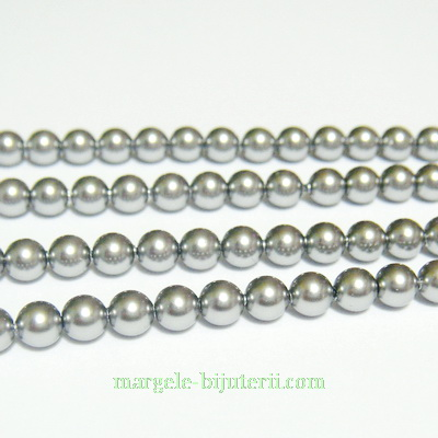 Swarovski Elements, Pearl 5810 Crystal Grey 4mm 1 buc