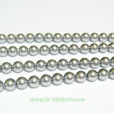 Swarovski Elements, Pearl 5810 Crystal Grey 3mm 1 buc