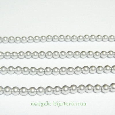 Swarovski Elements, Pearl 5810 Crystal Light Grey 3mm 1 buc