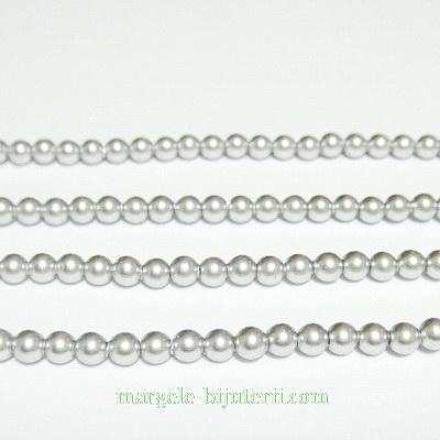 Swarovski Elements, Pearl 5810 Crystal Light Grey 3mm 1 buc