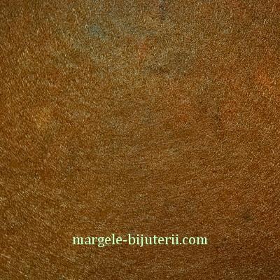 Fetru maro, 30x20cm, grosime 1mm 1 buc
