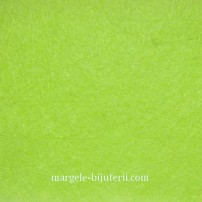 Fetru verde-olive, 30x20cm, grosime 1mm 1 buc