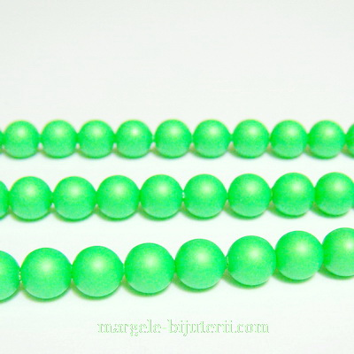 Swarovski Elements, Pearl 5810 Crystal Neon Green 6mm 1 buc