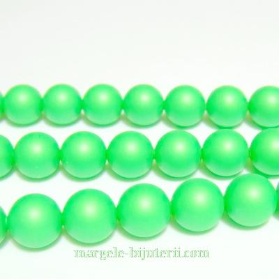 Swarovski Elements, Pearl 5810 Crystal Neon Green 8mm 1 buc