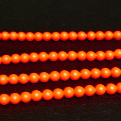 Swarovski Elements, Pearl 5810 Crystal Neon Orange 3mm 1 buc