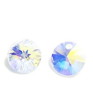 Swarovski Elements, Xilion 6428-Cristal AB, 12mm 1 buc