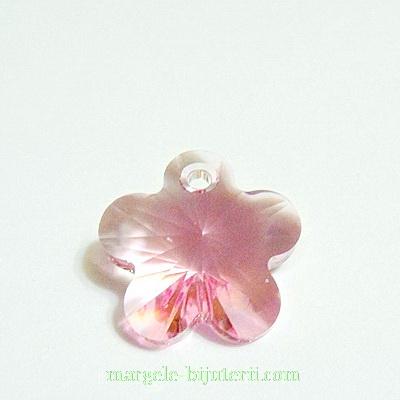 Swarovski Elements, Flower 6744-Light Rose, 14mm 1 buc