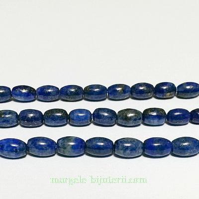 Lapis Lazuli, oval, 6x4mm 1 buc