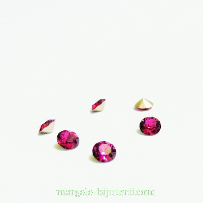 Swarovski Elements, Xirius Chaton 1088 PP32 Fuchsia 4mm