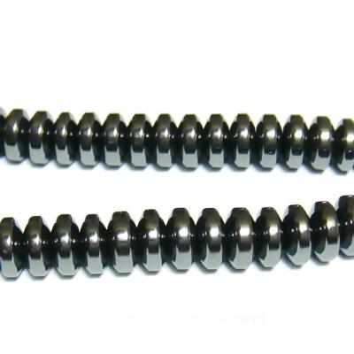 Hematite nemagnetice, rondel, 6x2.5mm 1 buc