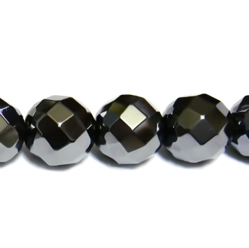 Hematite multifete, nemagnetice, 10mm 1 buc