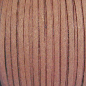 Snur faux suede, maro deschis, grosime 3x1.5mm 1 m