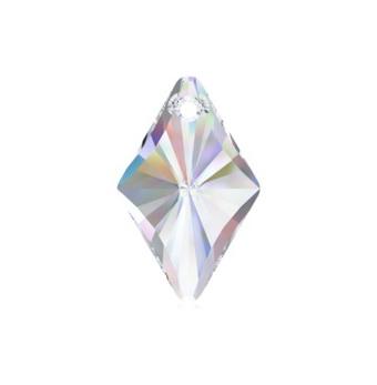 Swarovski Elements, Rhombus Pendant 6320-Crystal AB, 14mm 1 buc