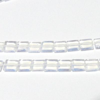 Opal patrat 8x8x4mm 1 buc