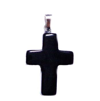 Pandantiv obsidian fulg de nea, rombic, 20x20x6mmmm 1 buc