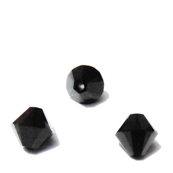 Swarovski Elements, Bicone 5328-Jet, 8mm 1 buc