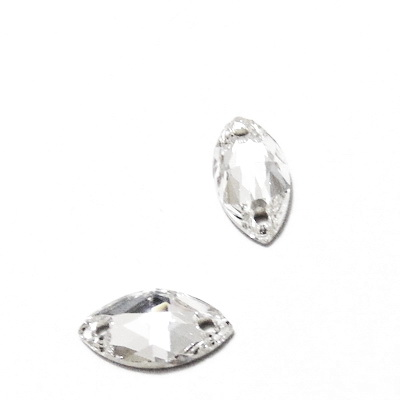 Swarovski Elements, link, 3223-Crystal, 12x6x4mm 1 buc