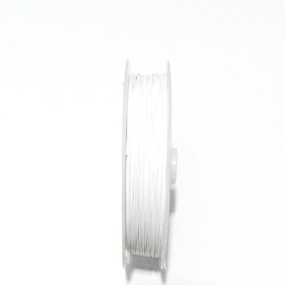 Sarma siliconata alba, 0.45mm 5 m