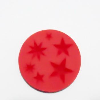 Set accesorii fimo, cauciuc,  forme stele 1 buc