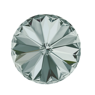 Swarovski Elements, Rivoli 1122 - Black Diamond, 8mm 1 buc