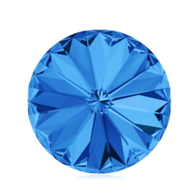 Swarovski Elements, Rivoli 1122 - Sapphire, 8mm 1 buc