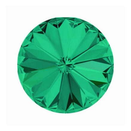 Swarovski Elements, Rivoli 1122 - Emerald, 8mm 1 buc