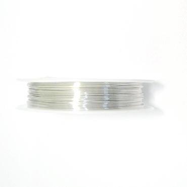 Sarma modelaj argintie 0.4mm, rola 15m 1 buc