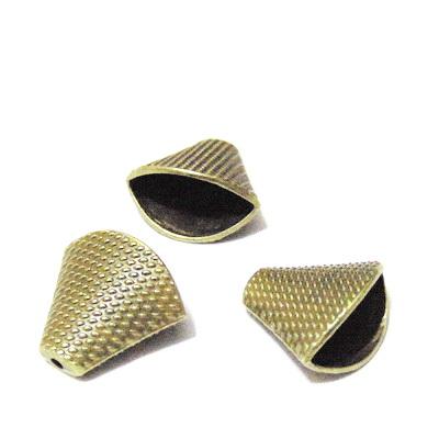 Capat snur, bronz,  18.5x20x11.5mm 1 buc