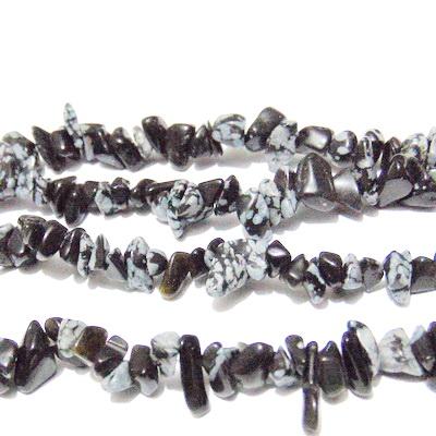 Chips obsidian fung de nea, sirag 30cm 1 buc