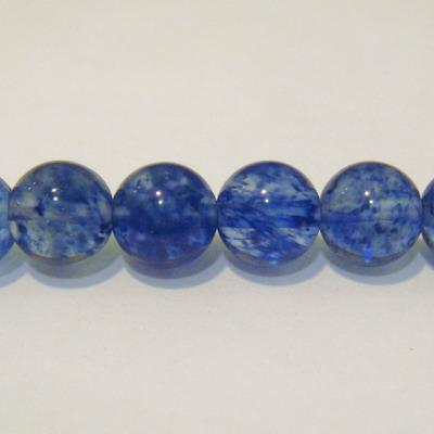 Margele quartz albastru, 8mm 1 buc