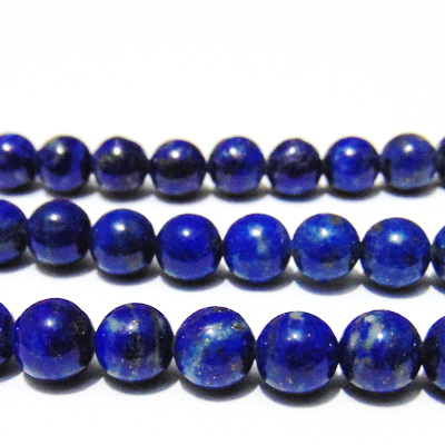 Lapis Lazuli sferic, 7.2mm 1 buc