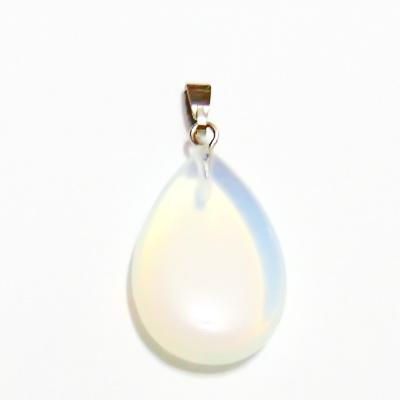 Pandantiv opal, lacrima 25~29x16~17x5~6mm, cu accesoriu 1 buc