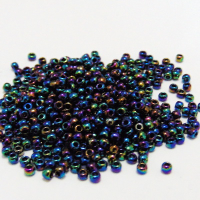 Margele TOHO rotunde, 11/0 :  Metallic Rainbow Iris 20 g