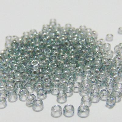Margele TOHO rotunde 8/0 : Transparent-Lustered Black Diamond 20 g