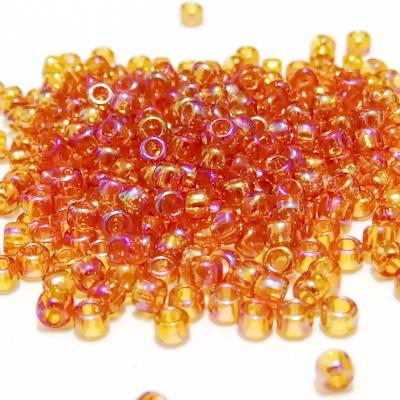 Margele TOHO rotunde 8/0 :  Transparent-Rainbow Topaz 20 g